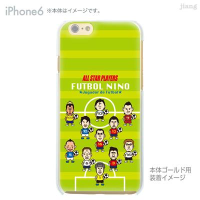 iPhone6 4.7 inch iphone ハードケース Clear Arts ケース カバー スマホケース クリアケース かわいい おしゃれ 着せ替え サッカー 10-ip6-ca1001の画像