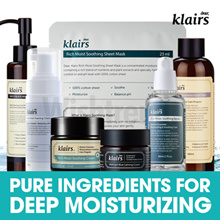 [KLAIRS] Pure and Deep Mositurizing / Soothing hydrating  / Rich moist soothing / all skin type