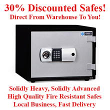 30% off Sale! Solid Fire Resistant Safe Box Best Value for Money Safes In Singapore!