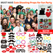 [New Design] MUST HAVE Fun Photobooth Shooting Props for A Successful Party - Wedding/ Bachelor Night/ Christmas/ Birthday/ Countdown/ Celebration Party