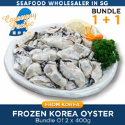 Frozen Korea Oyster Meat /Without Shell/400g x 2 /20-25pcs /BIG/ PRODUCT OF KOREA /WHOLE SALE PRICE