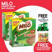 [NESTLE]【FREE MINI MILO VAN!!】x2 MILO® ENERGY SNACKBAR