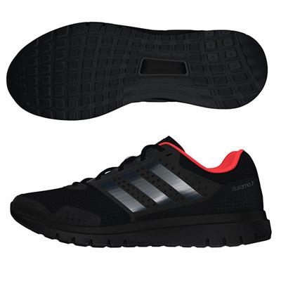 アディダス (adidas) Duramo 7(コアブラック×ナイトメット×ソーラーレッド) AF5894 [分類:ランニング ランニングシューズ (メンズ)]の画像