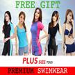 FREE GIFT! *1-3 DAYS DELIVERY* Premium Swimwear Bikini Diving Suit Long Sleeve Rashguard