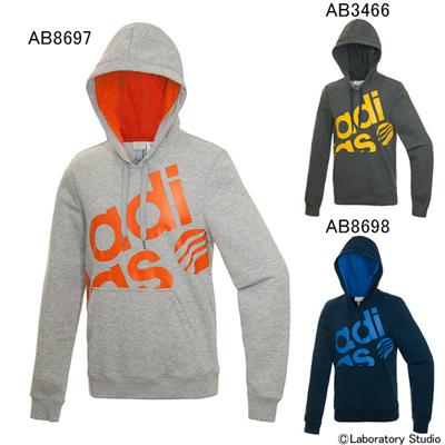 アディダス (adidas) BC 裏起毛スウェットビッグロゴパーカー M ACO98 [分類:メンズファッション ジップアップパーカー] 送料無料の画像