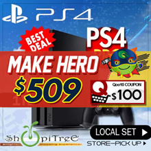 New PS4 1 TB Pro Console.Most Responsive Gaming Experience! Increased Power Intense Graphics.Faster, Smoother Stable Frame Rates. 4K Quality Resolution Remarkable Clarity. Local Stocks n Warranty