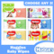 [HUGGIES] Baby Wipes Natural Care/Pure/Soft Skin/CucumberPooh/Everyday