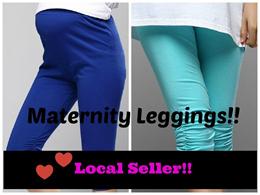 Maternity Leggings 2 Pants Bras Clothes Trousers Pregnant  Casual Comfortable Nice Sleepwear Pyjamas Lounge Wear