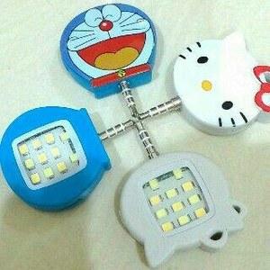 Qoo10Flashselfie karakter / Lampu Selfie karakter / Led selfie HK Doraemon Flash Selfie character / characters Selfie Lights / Led selfie HK Doraemon SJ 0048 K010