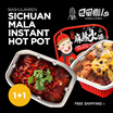 [1+1]SiChuan Bashu Lazy Hot Pot DIY Ready Meal Ma La Steamboat