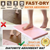 ★AUTHENTIC ★DIATOMITE ABSORBENT MATS ★BATH/FLOOR MAT ★Fast-Dry ★Hair Free ★Easy to Clean