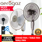 *SUPER SALES* Golden Fuji / Aerogaz - STAND FAN / TABLE FAN / WALL FAN