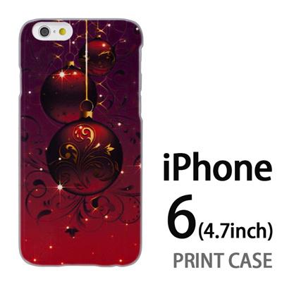 iPhone6 (4.7インチ) 用『1204 ゴージャスな鈴 紫』特殊印刷ケース【 iphone6 iphone アイフォン アイフォン6 au docomo softbank Apple ケース プリント カバー スマホケース スマホカバー 】の画像