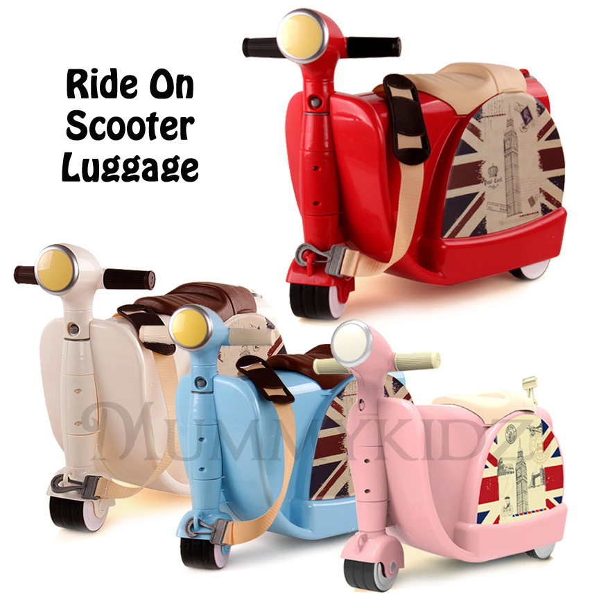 Scooter Luggage Kids | Luggage And Suitcases