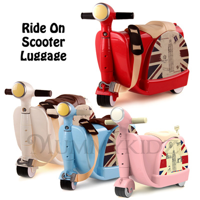 Qoo10 - Kids Ride on Luggage (Similar Skoot) / Scooter Luggage ...
