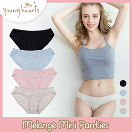 Young Hearts Melange Mini Panties
