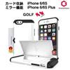 [韓国産] ★ Phonefoam Golf Secret Case ★ カード収納 / 衝撃保護 / スタンディング / ミラー ★ Apple iPhone 6/6S iPhone 6/6S Plus ★ Samsung Galaxy S6 Edge S6 ★
