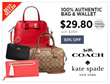 Restocked!! [COACH X KATE SPADE] •• Bag and Wallet Collections!! ••  100% Authentic ••