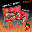[LIMITED EDITION] Korean Spicy Ramen * Nuclear Edition n Curry Hot Chicken Flavour Ramen