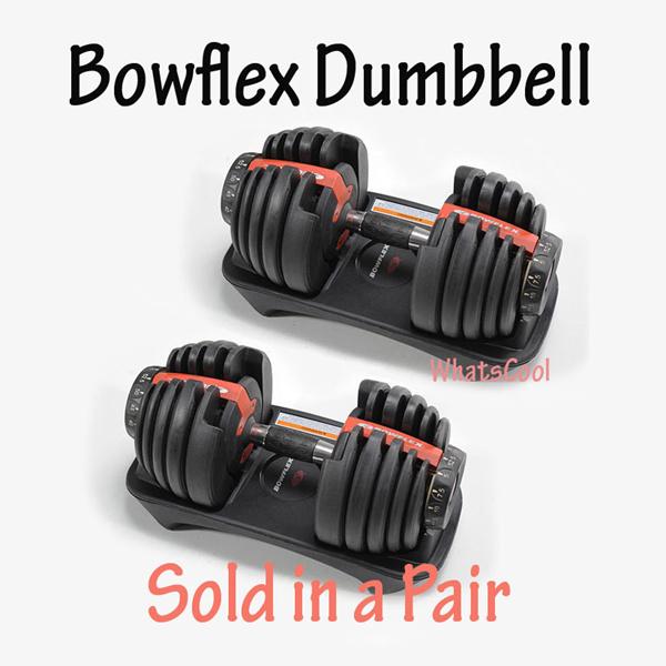 Adjustable Dumbbells Malaysia: Buy Bowflex Dumbbell SelectTech 552 Adjustable 52lbs Sold