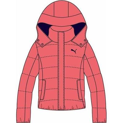 プーマ(PUMA) LITE フーデッドダウンジャケット 831018 04 デュバリイ 【レディース トレーニングウェア ランニング ブレーカー 防寒】の画像