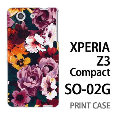 XPERIA Z3 Compact SO-02G 用『1000 花蓮』特殊印刷ケース【 xperia z3 compact so-02g so02g SO02G xperiaz3 エクスペリア エクスペリアz3 コンパクト docomo ケース プリント カバー スマホケース スマホカバー】の画像