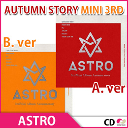 送料無料【2次予約限定価格】ASTRO - AUTUMN STORY (3RD MINI ALBUM)2種バージョン選択可能【発売11/11】【発送11月末】【K-POP】【BLU-RAY】