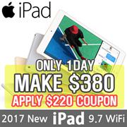 [MAKE $380!!] Apple iPad 9.7 Wi-Fi | 5th Generation 2017 Model | Retina Display/ tablet