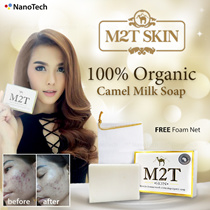 M2T Skin Camel Milk Soap [Launching promo!]/Top honor in Acne treatment ■ Miracle soap ■ Incredible change ■ Organic soap ■ acne wash