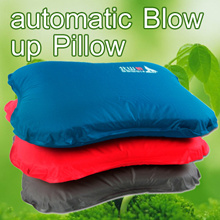▶BSWolf/北山狼 Professional skill made Automatic Blow Up Pillow◀GCE- Easy Carrying n Light Weight