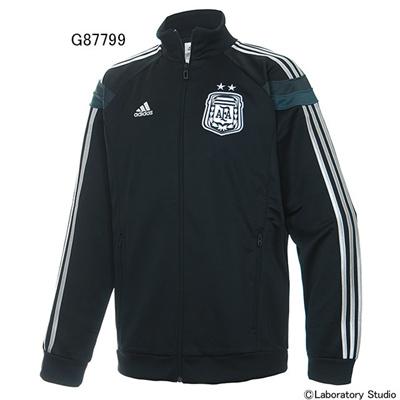 アディダス (adidas) アルゼンチン代表  アンセムジャケット AH052 [分類:サッカー レプリカウェア (海外代表・海外クラブチーム)] 送料無料の画像