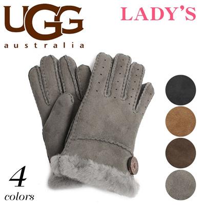 アグ オーストラリア ベイリー グローブ シープスキン UGG U1602 手袋 レディースの画像