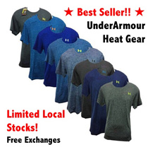 Clearance Sale!! ★SG Seller★ Underarmour HeatGear Top★  Charged Cotton Shirts! Fast shipping/next day delivery UA shirt top under armour 1 working day delivery! Free Exchange t-shirt