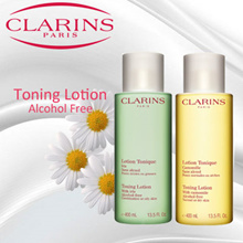 Clarins Toning Lotion With Chamomile 400ml U.P $51