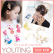 【YOUTING】2016 New trendy fashion accessories for Kids hair clip hair band hair hoop pin