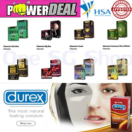 ★DUREX ★JAPAN OKAMOTO CONDOMS SALE ★No.1 Thinnest Condom★0.02mm ★Gay★Delay★Prolong★Adult Sex Toys★