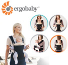 """Ergo ERGOBABY Ergo baby Four Position 360 Collection piggyback ride string hug string [with drool pad! ] """"Peace of mind! 1 year warranty """""""