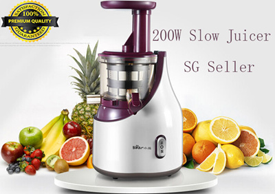 Qoo10 - Bear YZJ-A02W9 Juice EXTRACTOR Machine Slow Juicer MAKER 220v Professi... : Home Electronics