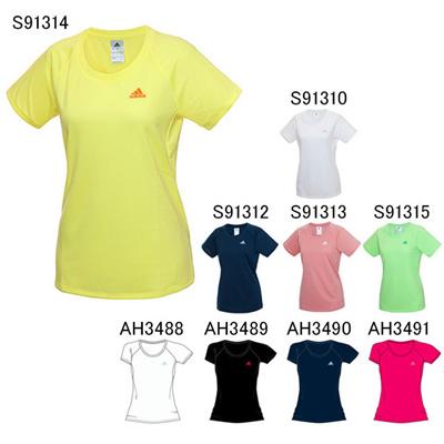 アディダス (adidas) レディース Separates ワンポイント Tシャツ KAZ29 [分類:Tシャツ (レディース)]の画像