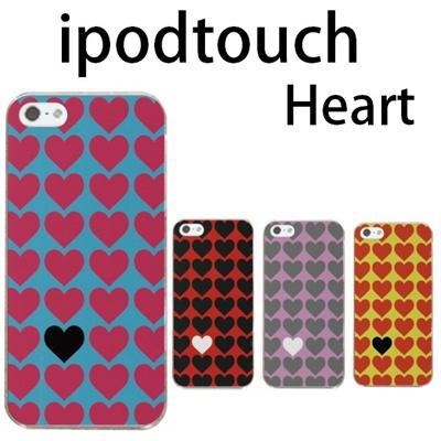 特殊印刷/iPodtouch5(第5世代)iPodtouch6(第6世代) 【アイポッドタッチ アイポッド ipod ハードケース カバー ケース】(ハート・Heart)CCC-104の画像
