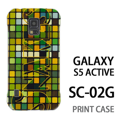 GALAXY S5 Active SC-02G 用『No2 60』特殊印刷ケース【 galaxy s5 active SC-02G sc02g SC02G galaxys5 ギャラクシー ギャラクシーs5 アクティブ docomo ケース プリント カバー スマホケース スマホカバー】の画像