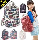 XX61 Leisure backpack / female bag / bag ★ travel bags backpacks / South Korea series academy high quality backpack / backpack / school bag / flower / Dot / cute!