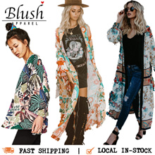 #1 Boho Bohemian Kaftan Dress Beach Floral Lace Cardigan Kimono Cover Up. New Designs Added!