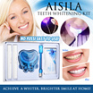 ★ Aisila Teeth Whitening Kit ★ Authentic ★ Cold Blue Light ★ Removing Teeth Stains ★ 艾丝拉冷光牙齿美白套装 ★