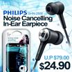 Philips SHN-2500 Noise Cancelling In-Ear Earpiece