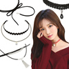 The Best Selling Necklaces Made in Korea Luxury Jewerly / Cubic Zirconia / Crystal / Korean Styles / Birthday Gifts / Free Size / Accessories / Jewelry / Valentine Gifts