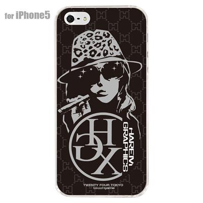 【iPhone5S】【iPhone5】【HAREM graphics】【iPhone5ケース】【カバー】【スマホケース】【クリアケース】 HGX-IP5C-005A 【10P01Sep13】の画像