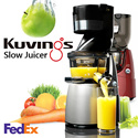 [Limited Sale] NUC Kuvings Whole Slow Juicer Extractor Mixer cuttless 220V-240V KJ-623S KJ-622R B6000S silver red