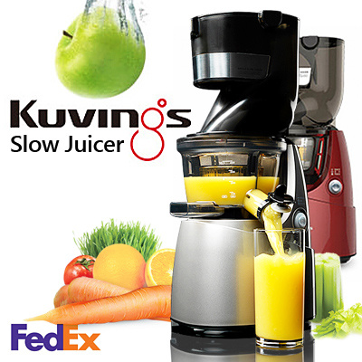 Slow Juicer Deals : Buy [Limited Sale] NUC Kuvings Whole Slow Juicer Extractor ...