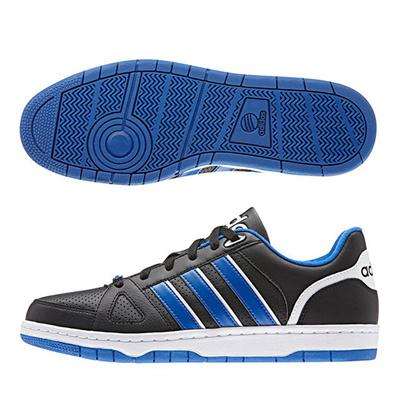 アディダス (adidas) NEOHOOPS TEAM(コアブラック×ブルー×ランニングホワイト) F98789 [分類:メンズファッション スニーカー ローカット] 送料無料の画像